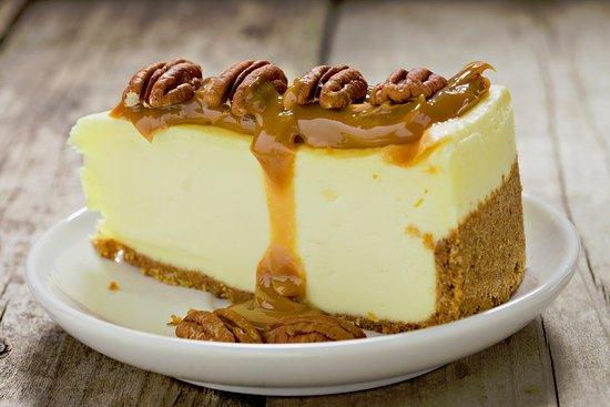 Stax Omega: Pecan Caramel Cheesecake