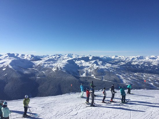 Whistler Blackcomb: Stunning scenery and snow conditions were great