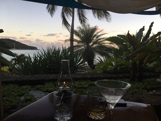 Frenchtown, St. Thomas: View from the lounge