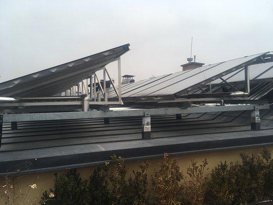 Pannonia Hotel: gyönyörű a kilátás a tető teraszról mindenképp érdemes felmenni