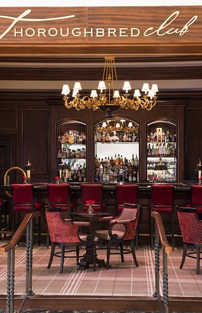 Thoroughbred Club: Relax with tapas, desserts and an extensive menu of beverages