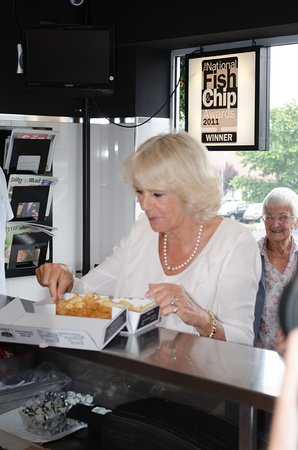 Fish and Chips at 149: Royal Visit