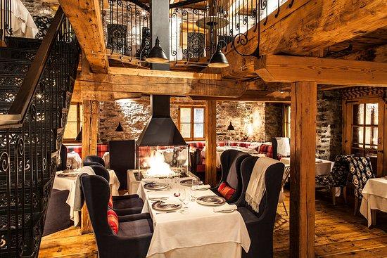 Auberge Saint-Antoine: Four Diamond Dining room Panache
