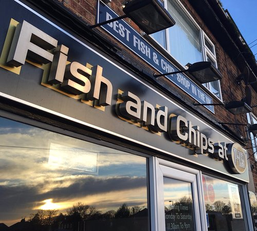 Fish and Chips at 149: Shop front