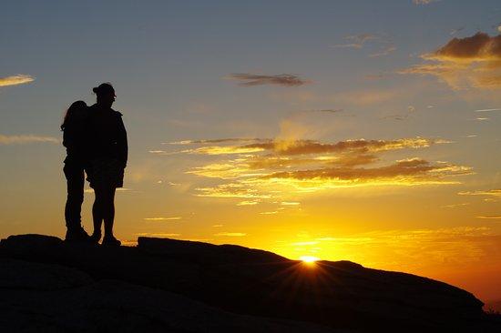 Sentinel Dome : Beautiful Sunset Views