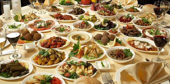 lebanese meza picture of yummy yalla restaurant phillip tripadvisor