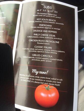 Marzano Italian Grill