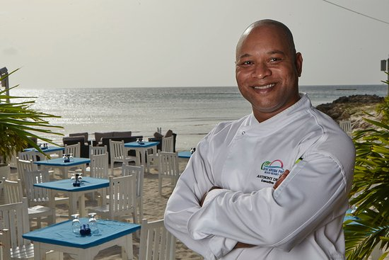 Divi Aruba Phoenix Beach Resort: Executive Chef Anthony dePalm