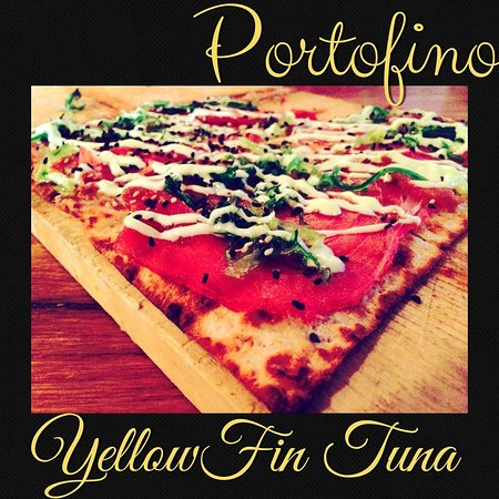 Bethel, CT: Portofino Yellow Fin Tuna Flatbread