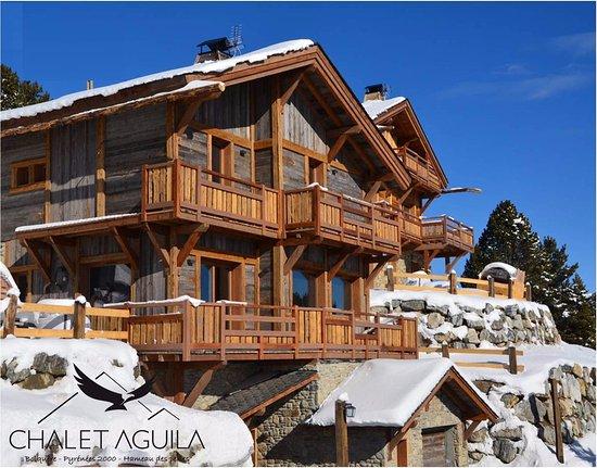 Chalet Aguila: chalet_aguila_bolquere_font_romeu_pyrenees2000