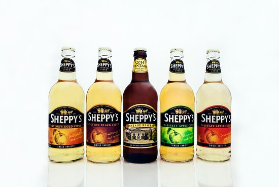 Taunton, UK: Sheppy's Cider Products