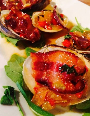 Bethel, Коннектикут: Portofino Clams Casino