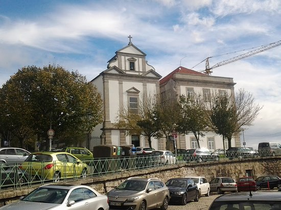 Porto District, Portugal: church in fontainhas outside the main touris circuit