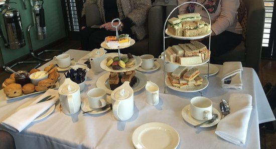 Heckfield, UK: Afternoon Tea