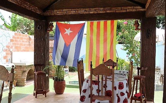 Hostal Doña Cristina: Terraza de la Hostal