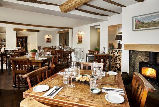 Meysey Hampton, UK : Dining room