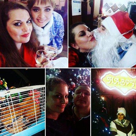 Klinsky District, Rússia: Зажигательные ведущие зажигательных Новогодних вечеринок. Декабрь 2016г.