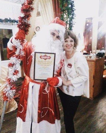 "Klinsky District, روسيا: Дед Мороз никого не оставил без именных подарков от ресторана ""Навруз"""