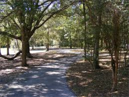 Leesburg, FL: Shaded walk