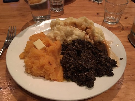 The Ceili Cottage : Haggis on Robbie Burns day - get it while you can!