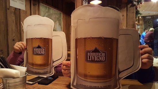 Birrificio Livigno: lista menu'