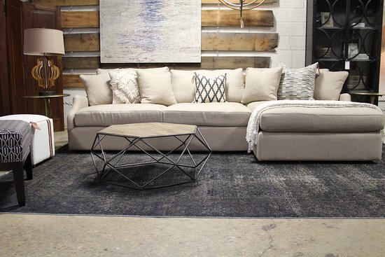 Dwellings: Our Paris Sectional Group. NC-Made, hundreds of fabrics to choose from!