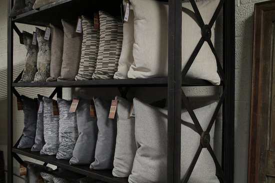 Dwellings: We keep an ever-changing inventory of down filled pillows