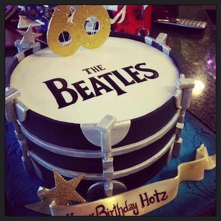 Pleasant Beatles Drum Cake Picture Of Cakestar Toronto Tripadvisor Personalised Birthday Cards Paralily Jamesorg