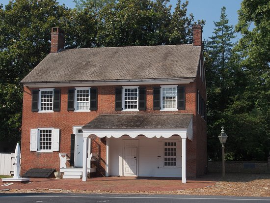 Odessa, DE: Pump House, c. 1780