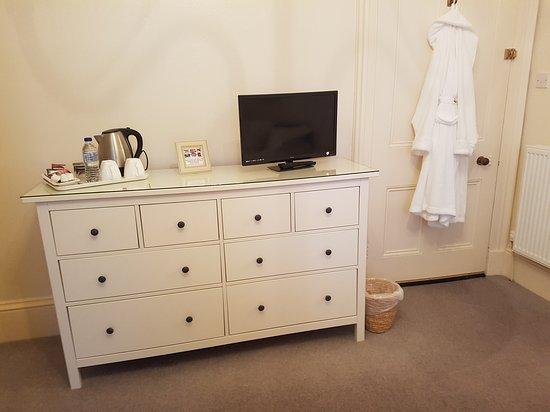 Old Rectory: Double en-suite room