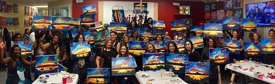 No Experience Needed Picture Of Painting With A Twist Davie Fl