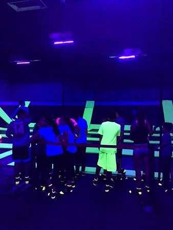 Jump n Glow at Bounce! Valley Cottage. Friday and Saturday nights from 8-10pm