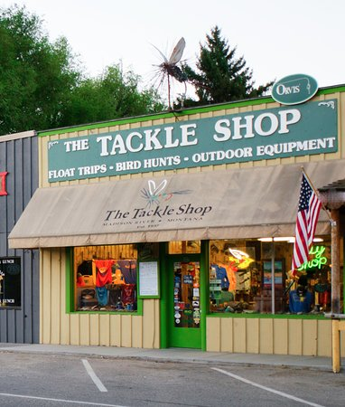 ‪The Tackle Shop - Fly Shop and Outfitter‬