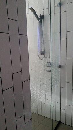 Shower in standard room