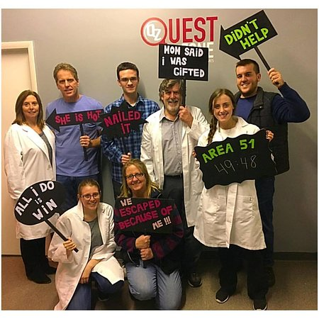 Ridgefield, NJ: Team escaped Area 51