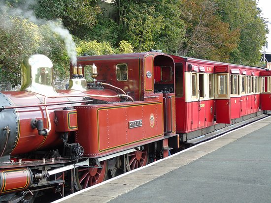 Douglas, UK: The Steam Train part of our fantastic Victorian transport system
