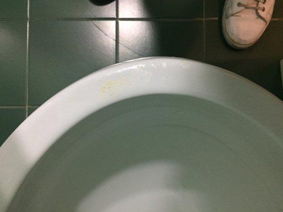 هوتل أريزونا: sanitari sporchi