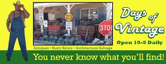 Yarnell, AZ: antiques, road relics and vintage USA