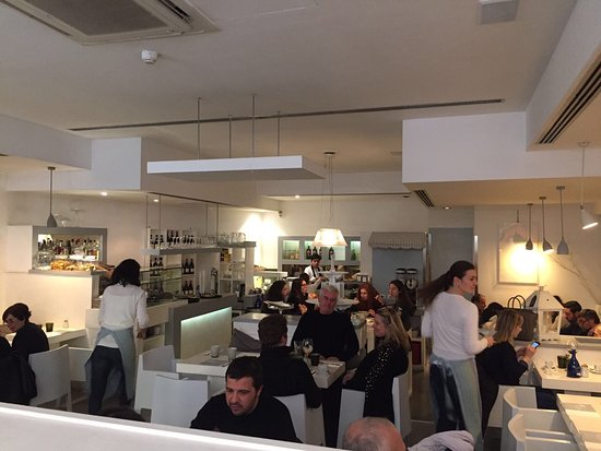 L 39 int rieur du restaurant picture of gina rome for Interieur restaurant