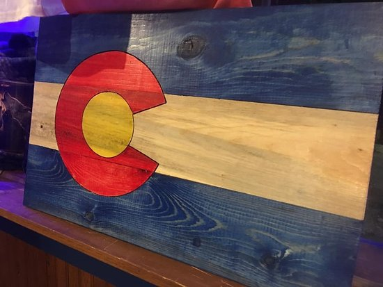 Empire, CO: Custom Stained Beetle Kill Signs.
