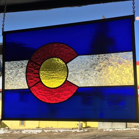 Empire, CO: Hand Crafted Stained Glass- Colorado desings- different sizes and designs available.