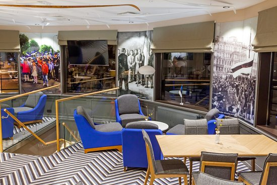 Otepaa, Estonie : Ugandi Resto interior / II floor