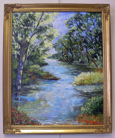 SAC's Gallery: Artwork by Norma Jean Robbins.