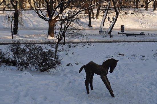 Sculpture Foal