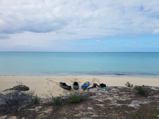 Bahamas Out Island Adventures - Day Trips: Kayaking from Current Island