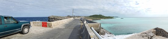 Bahamas Out Island Adventures - Day Trips: Glass Window Bridge