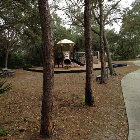 Upper Tampa Bay Park: Section of kids playground