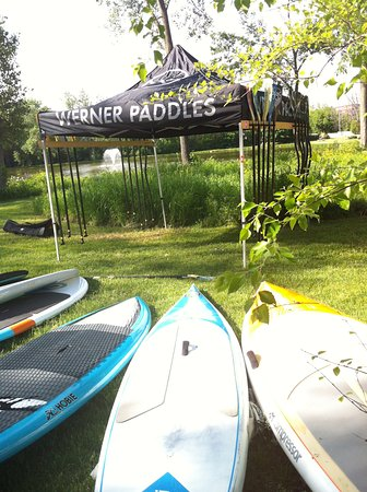 Delafield, WI: SUP Demo and Race