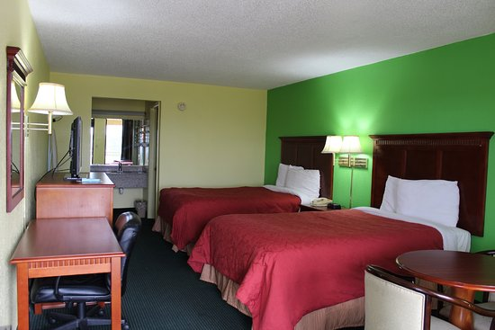 Scottsville, KY: ROOM WITH TWO DOUBLE BEDS