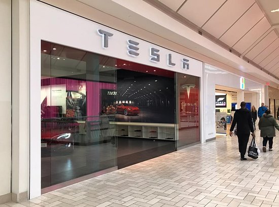 Tysons Corner Center: Tesla Occupies a Premium Location of the Mall